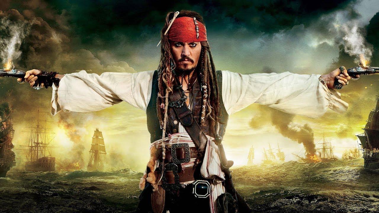 Johnny Depp, Jack Sparrow, Pirates des Caraïbes