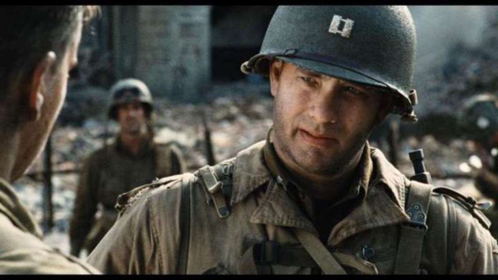 Tom Hanks, Sauvegarde de Ryan Soldier
