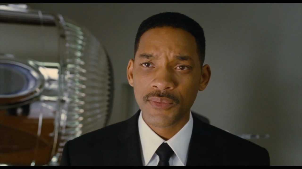 Will Smith, hommes en noir